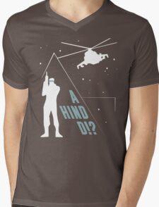 Metal Gear Solid - 'A Hind D!?' Mk.2 Mens V-Neck T-Shirt