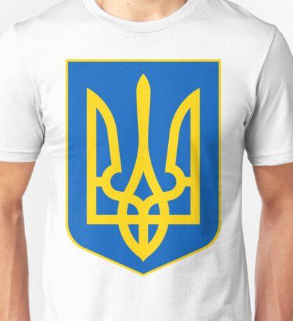 Ukraine UNTOUCHED | Europe Heraldry | SteezeFactory.com Unisex T-Shirt