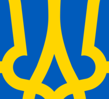 Ukraine UNTOUCHED | Europe Heraldry | SteezeFactory.com Sticker