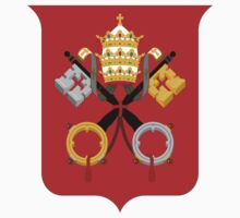 Vatican City Coat Of Arms UNTOUCHED | Europe Heraldry | SteezeFactory.com by FreshThreadShop