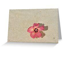 Flower in the Ocean Greeting Card