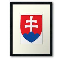 Slovakia | Europe Stickers | SteezeFactory.com Framed Print