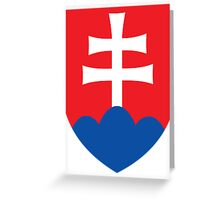 Slovakia | Europe Stickers | SteezeFactory.com Greeting Card