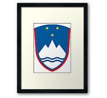 Slovenia | Europe Stickers | SteezeFactory.com Framed Print