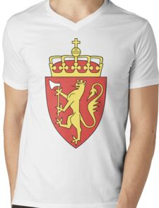 Norway | Europe Stickers | SteezeFactory.com Mens V-Neck T-Shirt