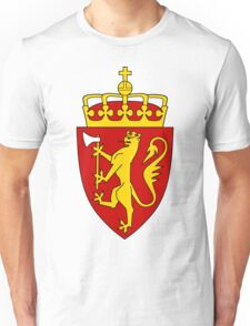 Norway GOLD | Europe Stickers | SteezeFactory.com Unisex T-Shirt