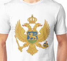 Montenegro | Europe Stickers | SteezeFactory.com Unisex T-Shirt