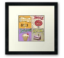 sweets Framed Print