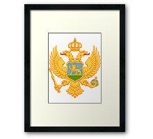 Montenegro BRIGHT | Europe Stickers | SteezeFactory.com Framed Print