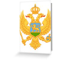 Montenegro BRIGHT   Europe Stickers   SteezeFactory.com Greeting Card