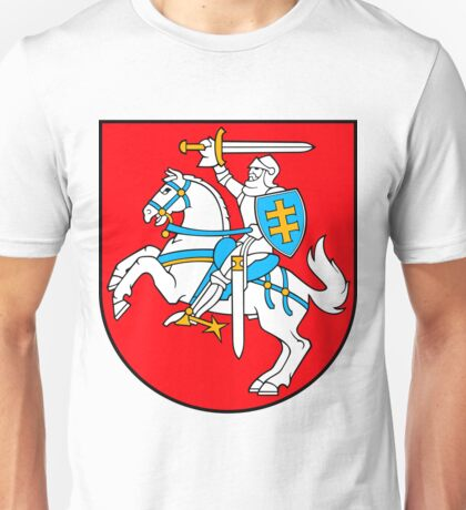 Lithuania | Europe Stickers | SteezeFactory.com Unisex T-Shirt