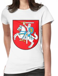 Lithuania | Europe Stickers | SteezeFactory.com Womens Fitted T-Shirt