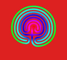 rainbow maze Unisex T-Shirt