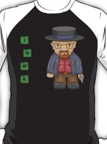 """I am the one who knocks!!"" Walter White - Breaking Bad T-Shirt"