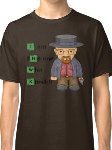 """""""I am the one who knocks!!"""" Walter White - Breaking Bad Classic T-Shirt"""