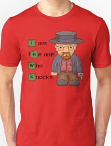 """I am the one who knocks!!"" Walter White - Breaking Bad Unisex T-Shirt"