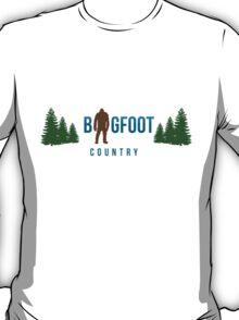 Bigfoot Country  T-Shirt