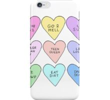 Funny Hearts iPhone Case/Skin