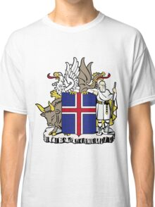 Iceland | Europe Stickers | SteezeFactory.com Classic T-Shirt