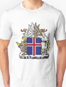 Iceland | Europe Stickers | SteezeFactory.com Unisex T-Shirt