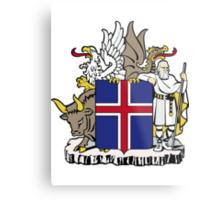 Iceland | Europe Stickers | SteezeFactory.com Metal Print