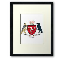 Isle of Man | Europe Stickers | SteezeFactory.com Framed Print