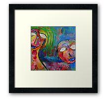 Bright Sisters Framed Print