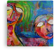 Bright Sisters Canvas Print