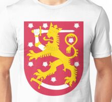 Finland | Europe Stickers | SteezeFactory.com Unisex T-Shirt