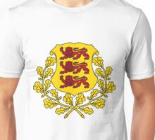 Estonia COLOR SWAP | Europe Stickers | SteezeFactory.com Unisex T-Shirt