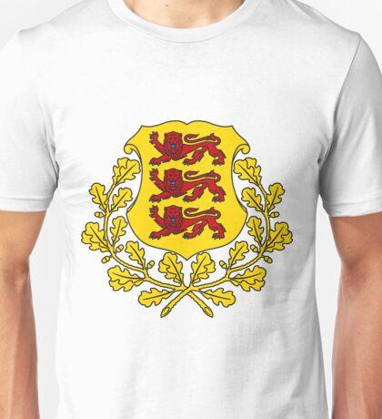 Estonia COLOR SWAP   Europe Stickers   SteezeFactory.com Unisex T-Shirt