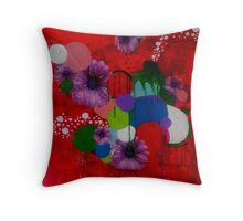 Fickle equilibrium Throw Pillow