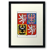 Czech Republic   Europe Stickers   SteezeFactory.com Framed Print