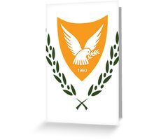 Cyprus   Europe Stickers   SteezeFactory.com Greeting Card