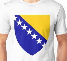 Bosnia | Europe Stickers | SteezeFactory.com Unisex T-Shirt