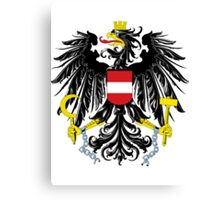 Austria | Europe Stickers | SteezeFactory.com Canvas Print