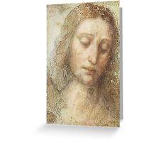Da Vinci - The Christ Greeting Card
