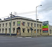 Pizza Pub, Launceston, Tasmania, Australia by Margaret  Hyde