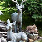 Deer Three! by Sandra Foster
