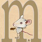 M is for MOUSE by busymockingbird