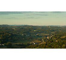 Chianti Sunrise Photographic Print