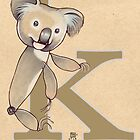 K is for KOALA by busymockingbird