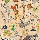 ABC Animals by busymockingbird