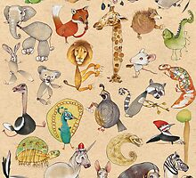 ABC Animals by busymockingbird