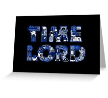 Lord of Time Greeting Card