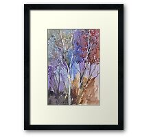Enter these enchanted woods Framed Print