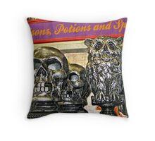 Halloween Still Life Throw Pillow