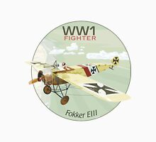 Fokker E111 - WW1 Fighter Unisex T-Shirt