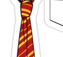 Gryffindor Slack Formal Sticker