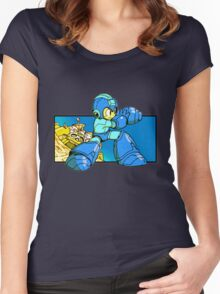 Blue-Buster Women's Fitted Scoop T-Shirt